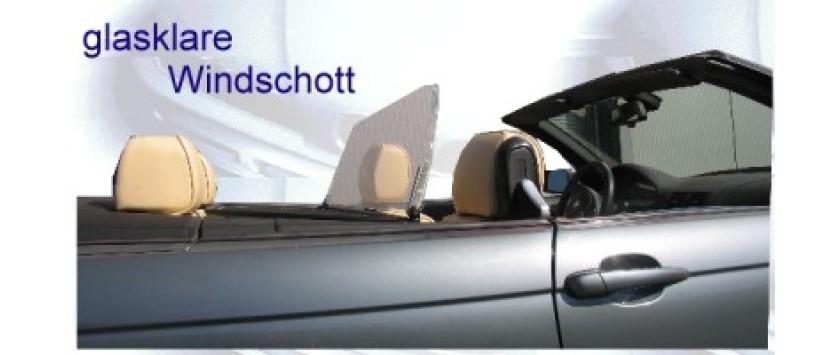 glasklare windschott f r cabrio und roadster. Black Bedroom Furniture Sets. Home Design Ideas