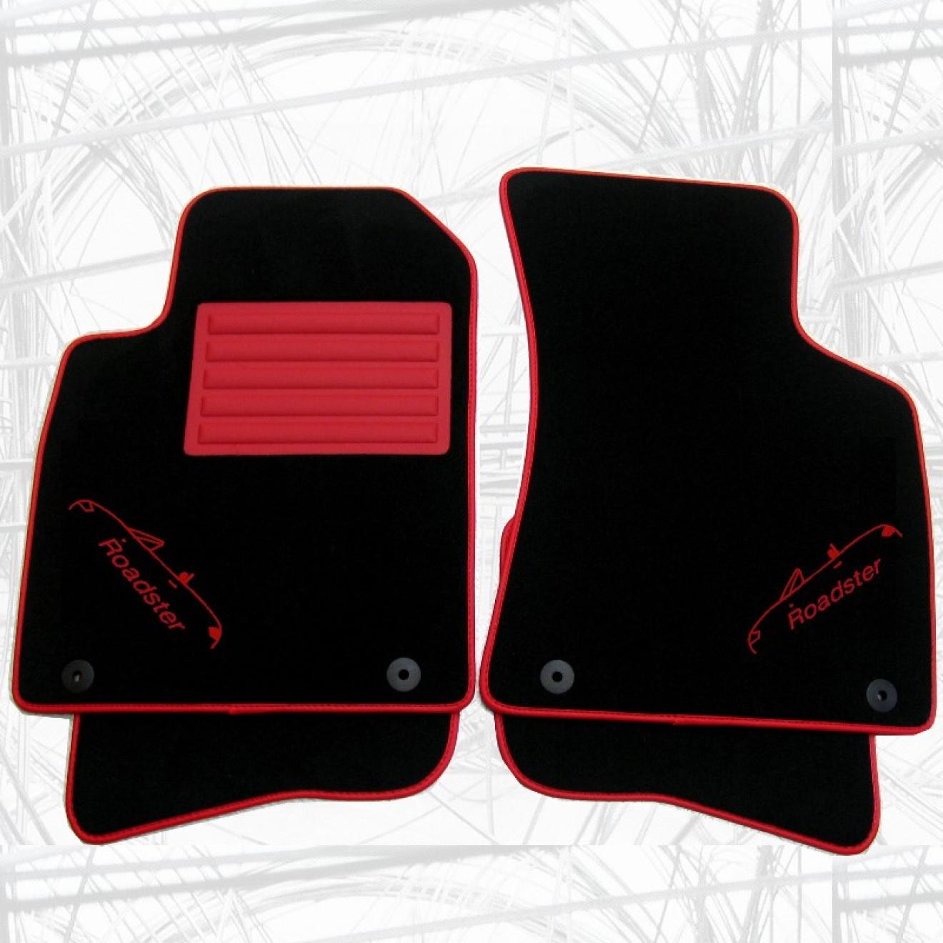 auto fussmatten f r audi tt roadster mit stickmotiv. Black Bedroom Furniture Sets. Home Design Ideas