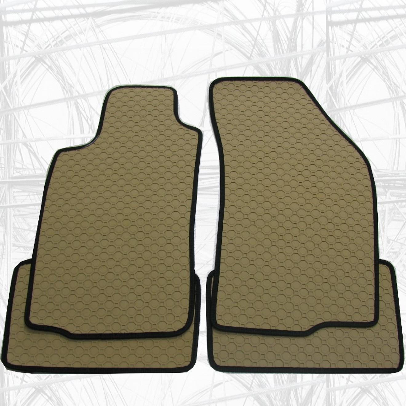 gummifussmatten nach mass in anthrazit und beige. Black Bedroom Furniture Sets. Home Design Ideas
