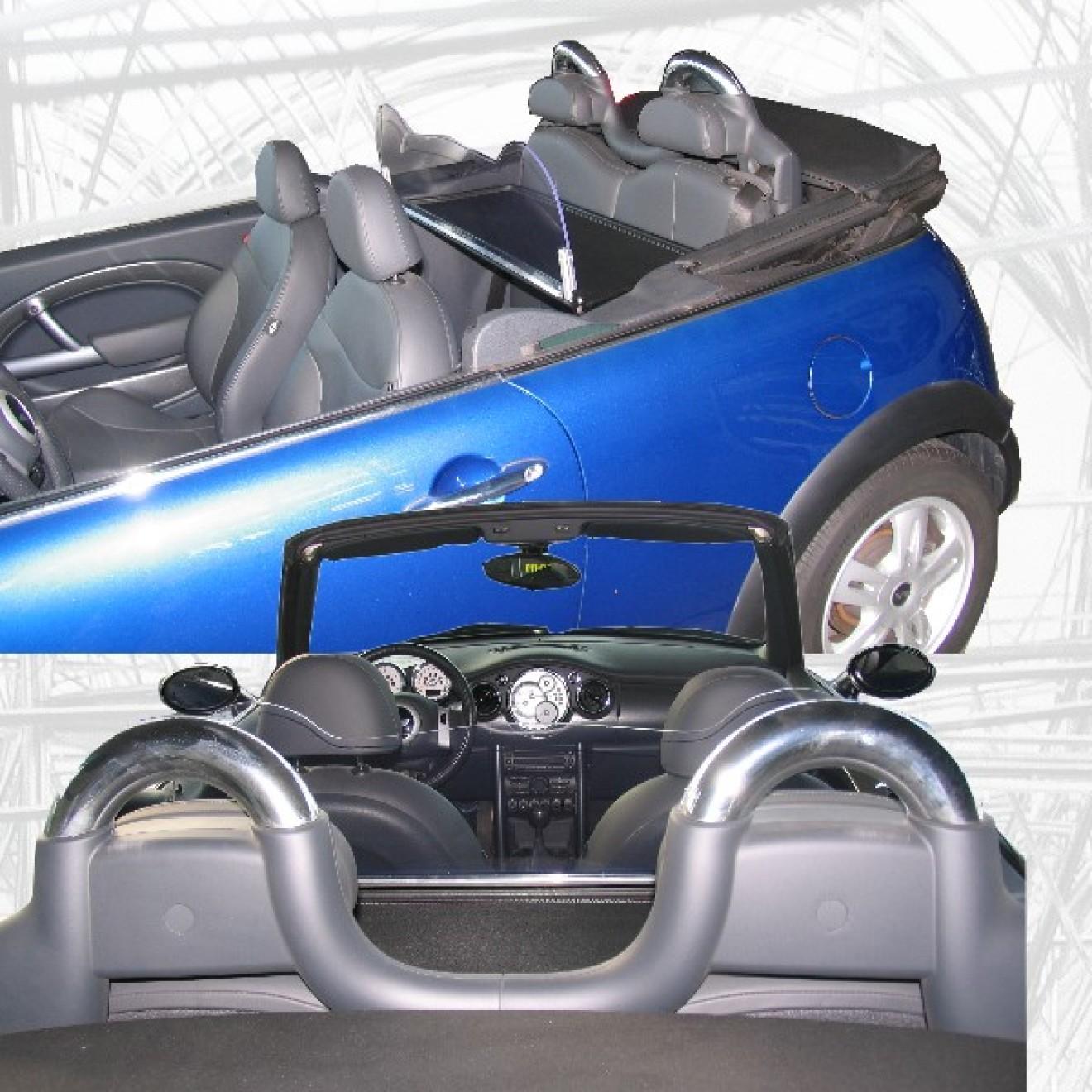 Glasklares Windschott Für Mini Cabrio F57