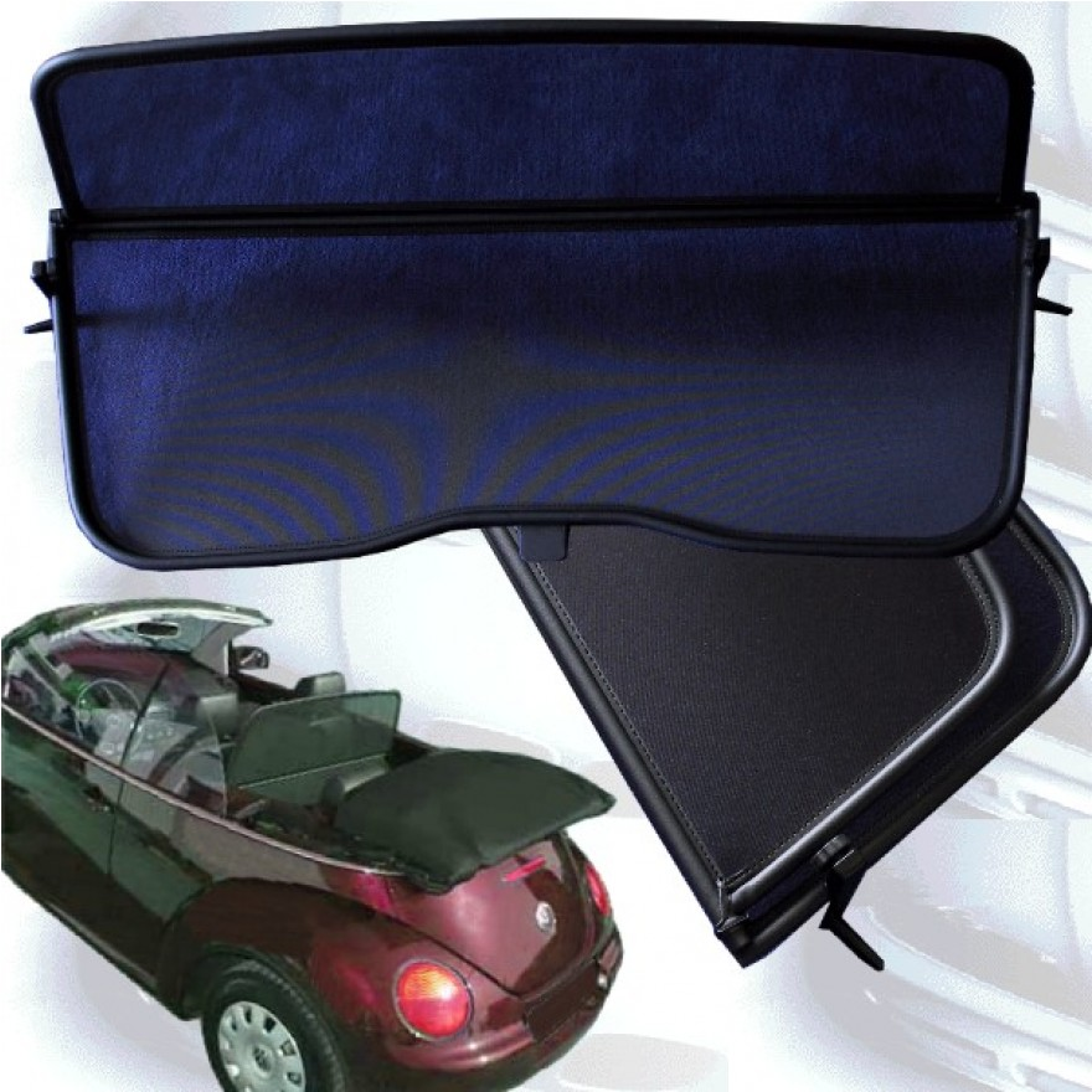 netz windschott f r vw beetle cabrio. Black Bedroom Furniture Sets. Home Design Ideas